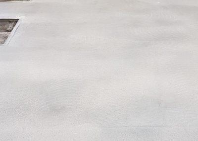 Betonvloer schuren tijdens XJ Hiper Commercial