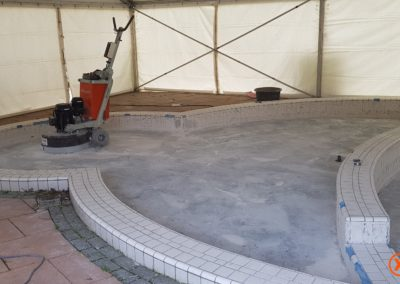 Na tegellijmresten verwijderen XJ Flooring