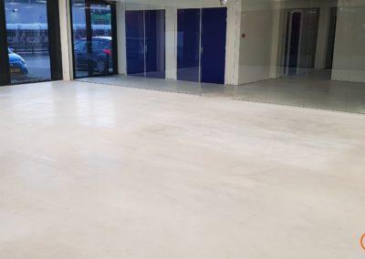 betonvloer voor polijsten