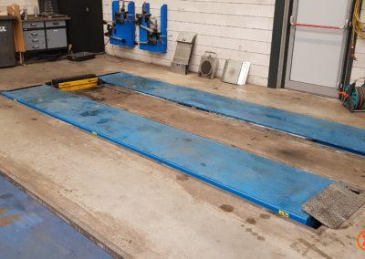 betonvloer vooraf autogarage